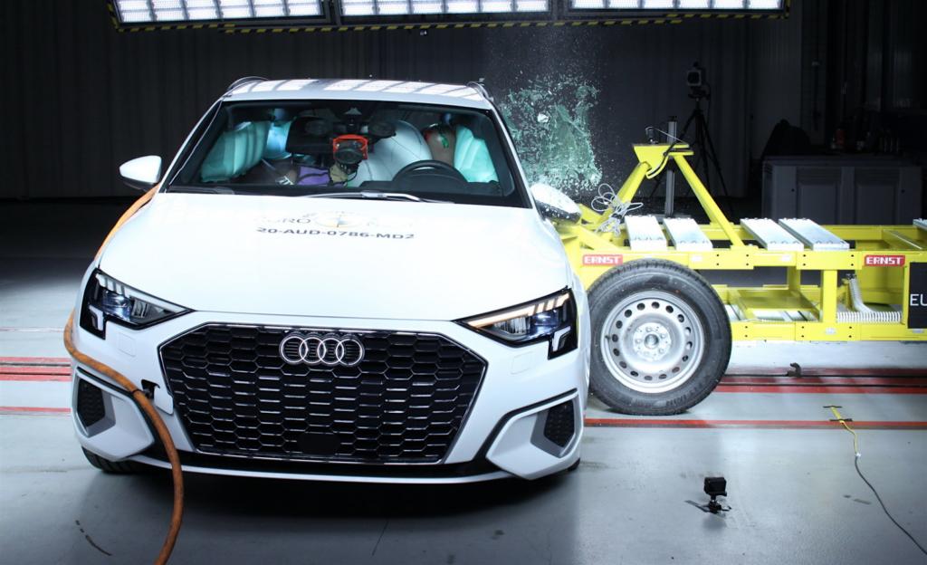 Test Euro NCAP: ultima sessione 2020