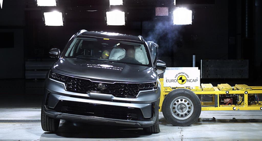 Test Euro NCAP Kia Sorento: 5 stelle