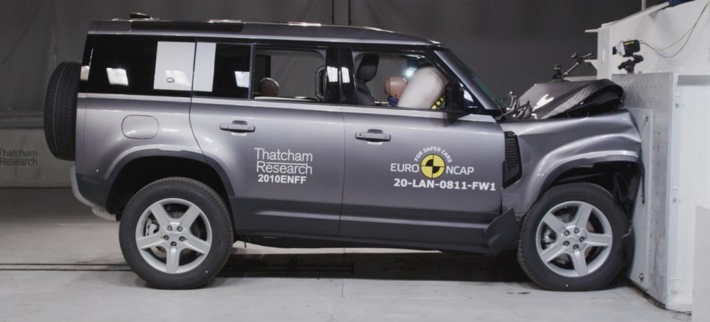 Test Euro NCAP Land Rover Defender: 5 stelle