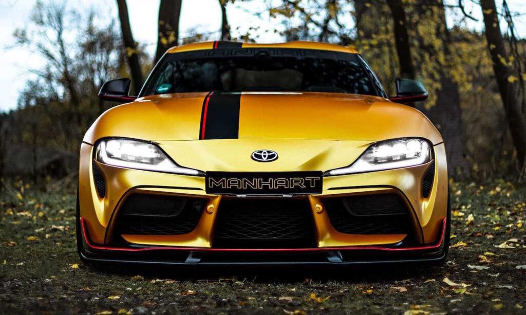 Toyota Supra by Manhart: 550 CV di esuberanza