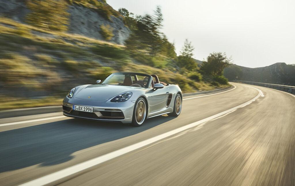 Porsche Boxster 25 Anni: esclusiva e celebrativa