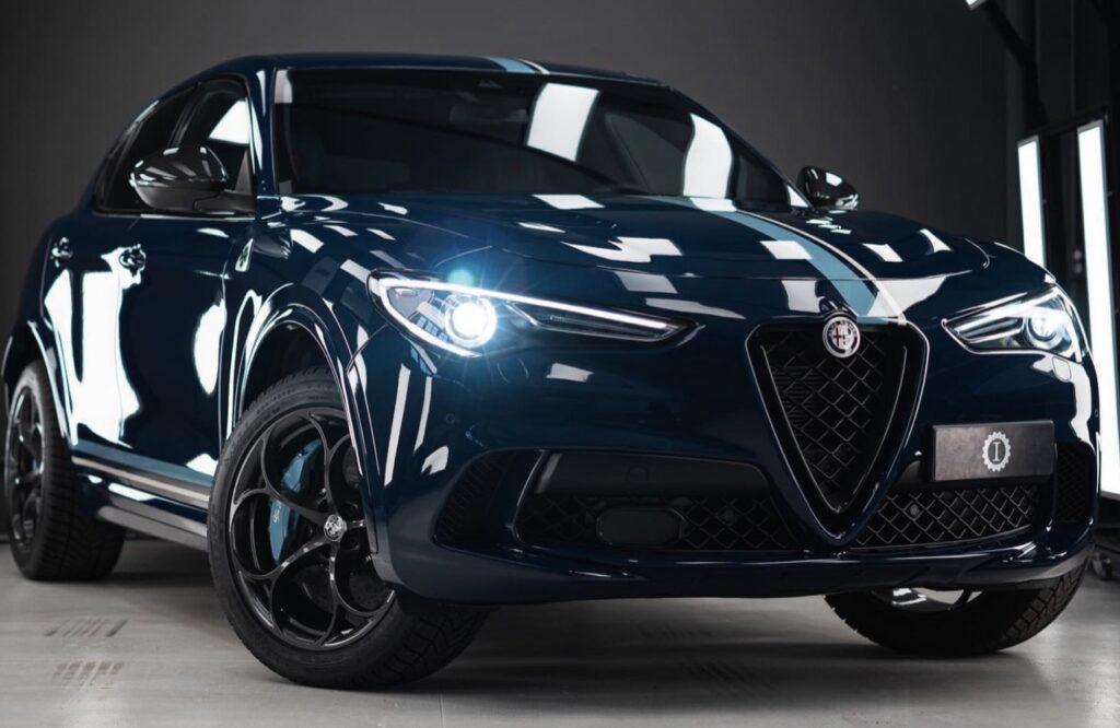 Alfa Romeo Stelvio Quadrifoglio creata da Garage Italia