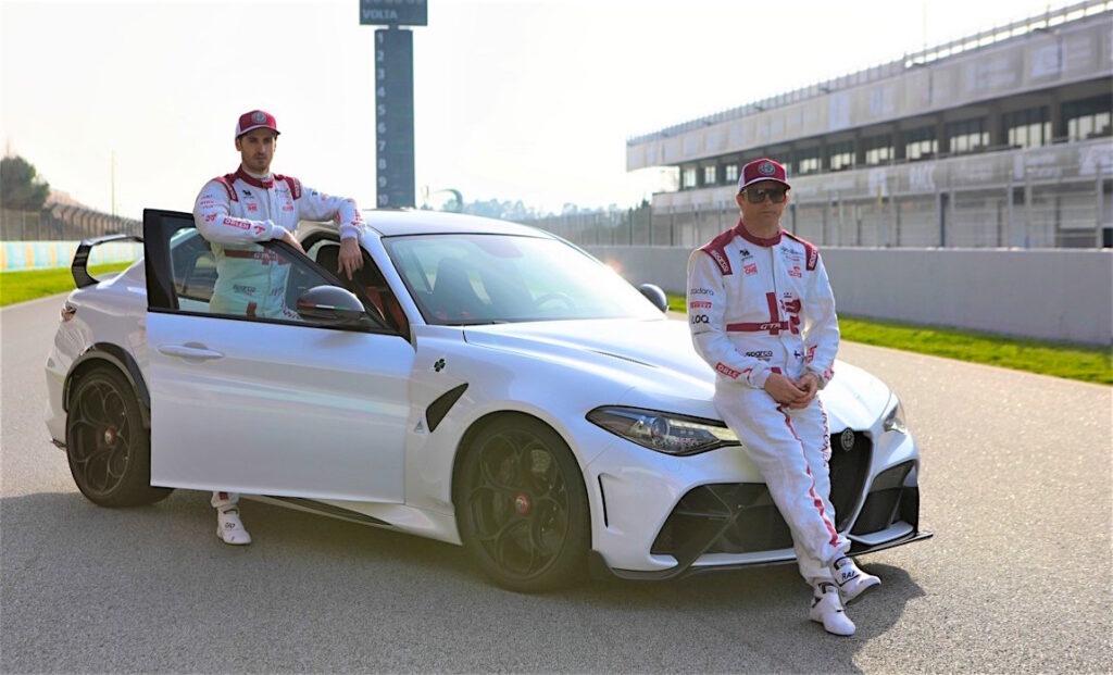 I due piloti Alfa Romeohanno contribuito attivamente allo sviluppo del progetto Giulia GTA.