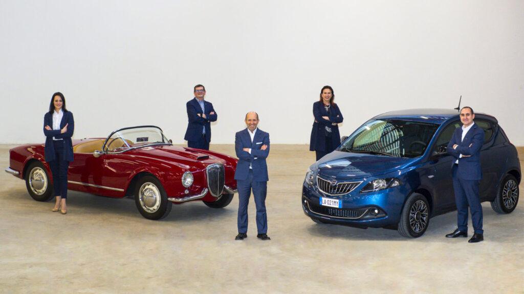 Una squadra di professionisti per costruire insieme il futuro del marchio Lancia