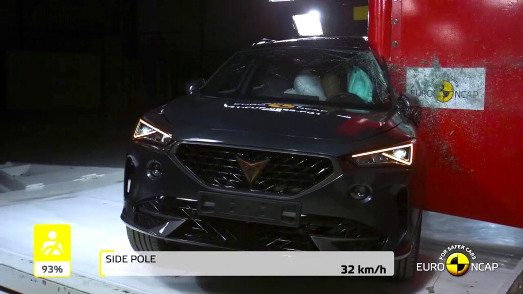 Test Euro NCAP: premiate Cupra Formentor e Polestar 2
