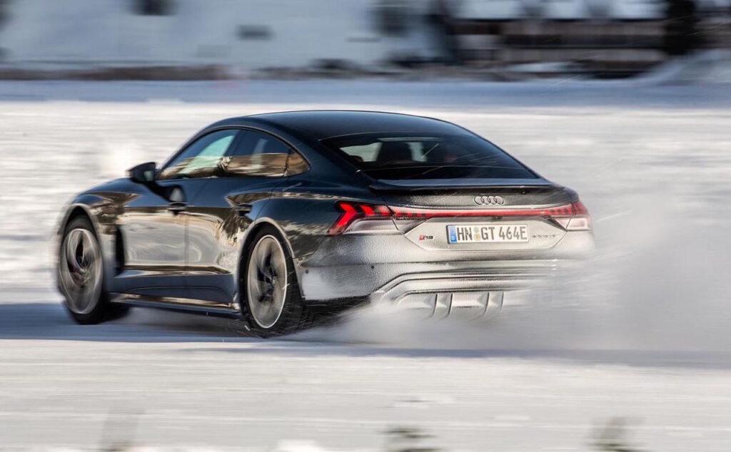 Audi e-tron GT: debutto italiano