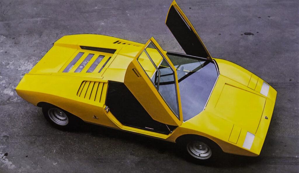 Lamborghini Countach LP 500: presentata nel 1971 al Salone di Ginevra