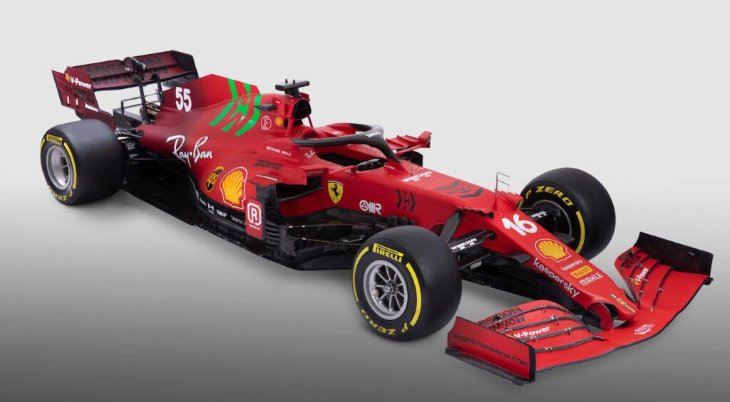 La Ferrari SF21 è la monoposto numero 67 realizzata a Maranello per competere nella Formula 1