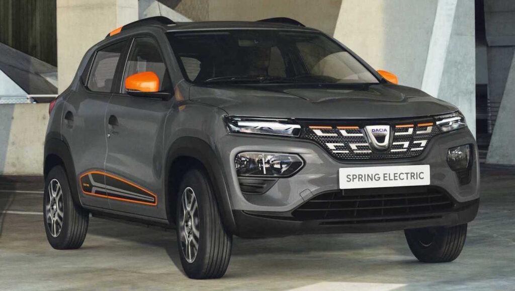 Con Dacia Spring l'auto elettrica costa meno di 10.000 euro