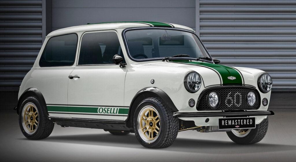 Rinasce la mitica 3 porte inglese Mini Remastered Oselli Edition ma solo in 60 esemplari.