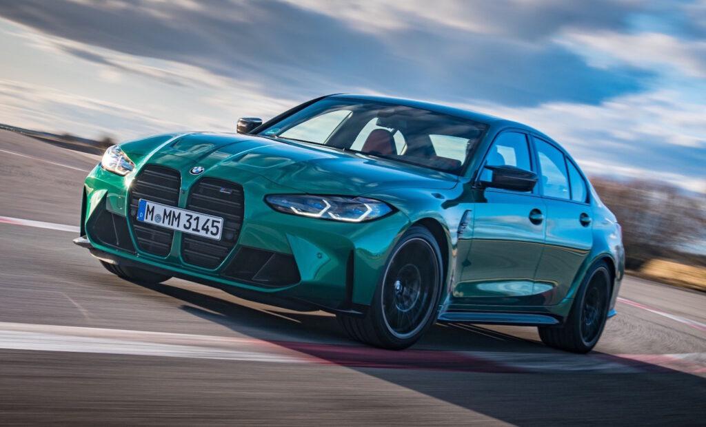 BMW M3 Competition impressioni di guida