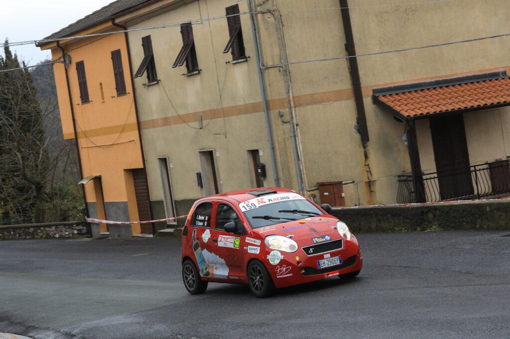 Il Rally Sanremo vissuto in prima persona due settimane fa