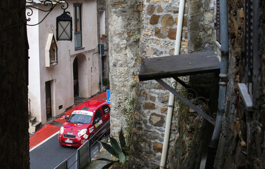 Il Rally Sanremo vissuto in prima persona due settimane fa.