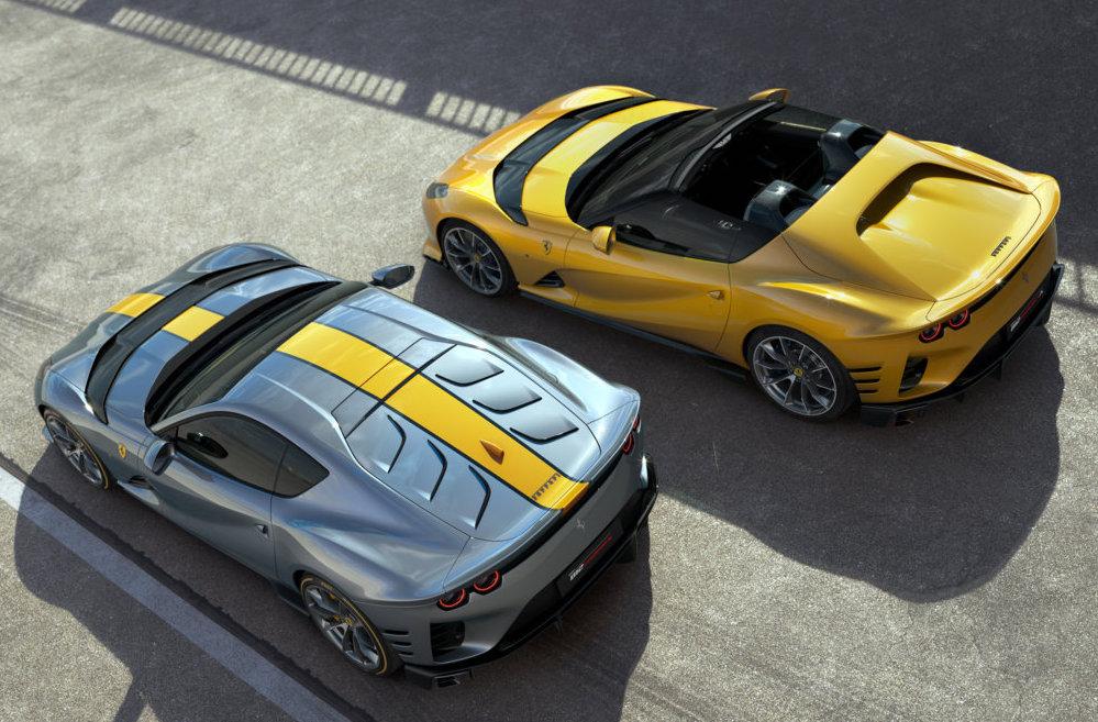 Ferrari 812 Competizione e 812 Competizione A montano il V12 più emozionante del panorama automobilistico mondiale