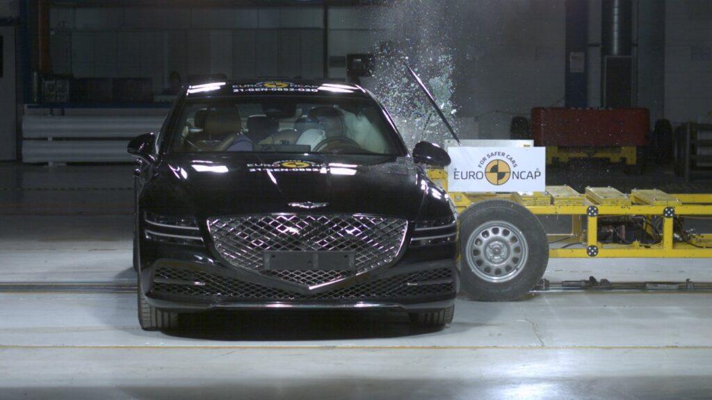 La migliore in questi test Euro NCAP è la Genesis G80