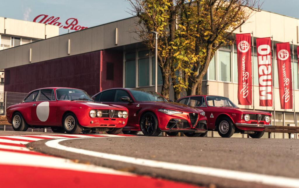 Uno speciale allestimento temporaneo all'interno del Museo Storico Alfa Romeo