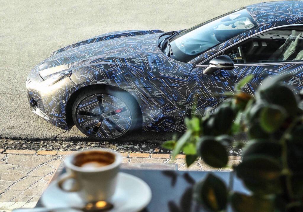 La nuova Maserati GranTurismo è la prima vettura del Brand a impiegare una soluzione al 100% elettrica.
