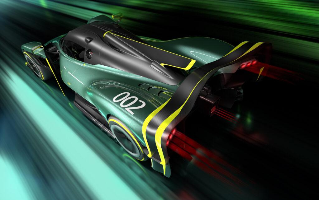 La nuova Valkyrie AMR Pro vanta una potenza di 1.000 cavalli.