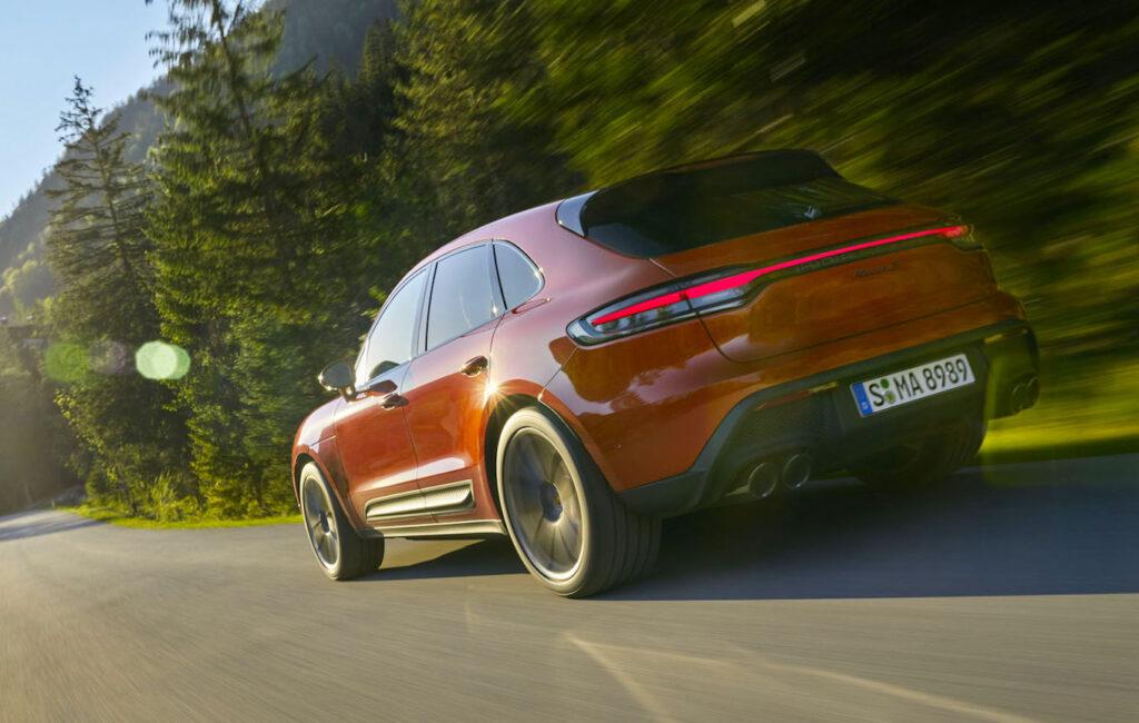 Macan è un quattro cilindri turbo di nuova concezione con 265 CV di potenza massima