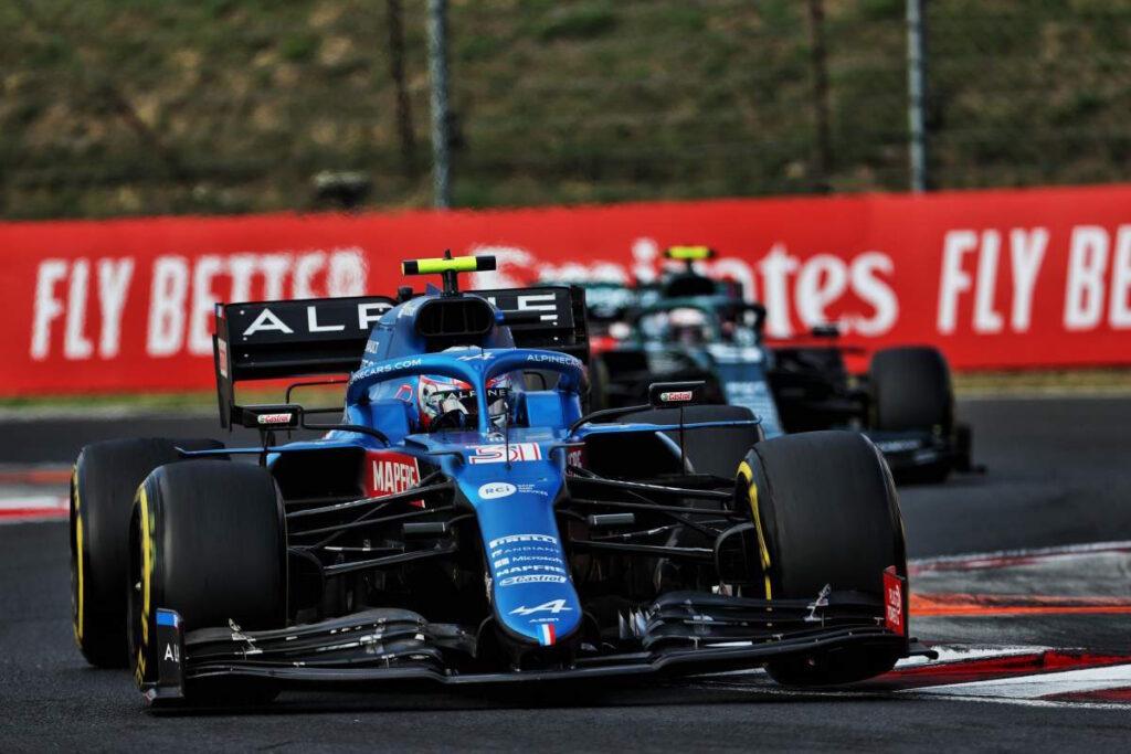 Al GP d'Ungheria Esteban Ocon ha portato l'Alpine alla vittoria