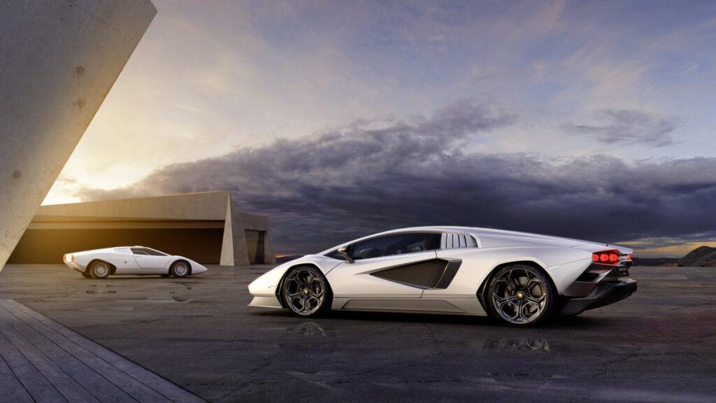 La Lamborghini Countach LPI 800-4 è stata realizzata in 112 esemplari