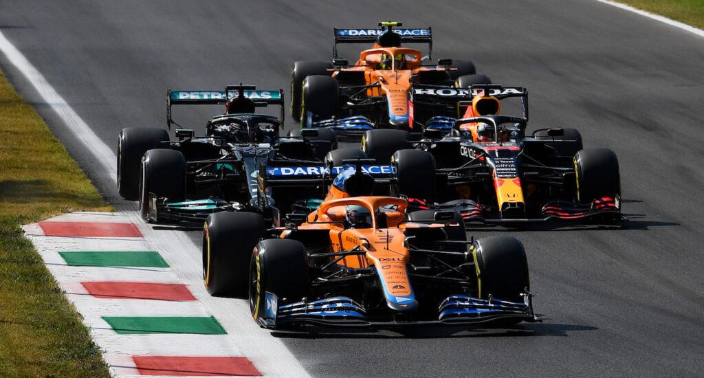 Oggi a Monza ha vinto Daniel Ricciardo (in testa fin dall'inizio gara) e secondo Lando Norris.
