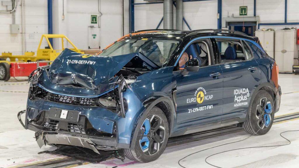 Anche la la Lynk & Co 01, che ha ottenuto cinque stelle nel test Euro NCAP