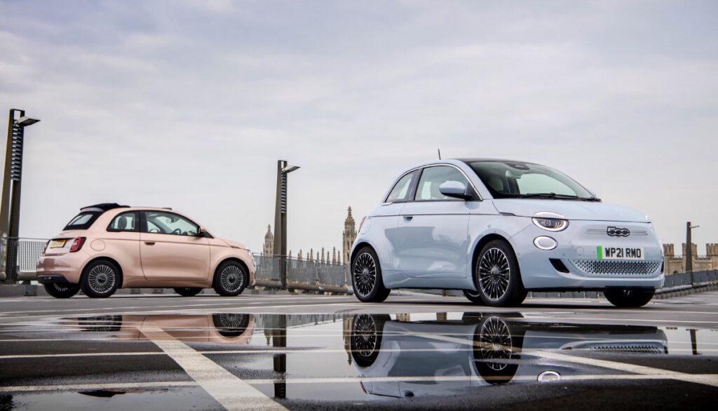 La Nuova Fiat 500 è il primo veicolo completamente elettrico della casa torinese