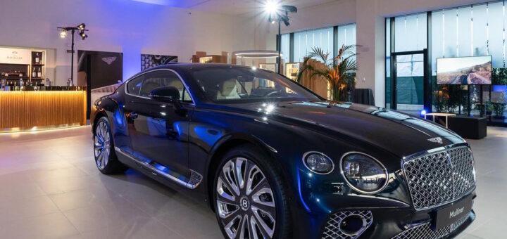 La nuova casa esporrà l'intera gamma di prodotti Bentley