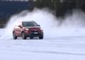 Fiat 500X on ice in Svezia (Video)