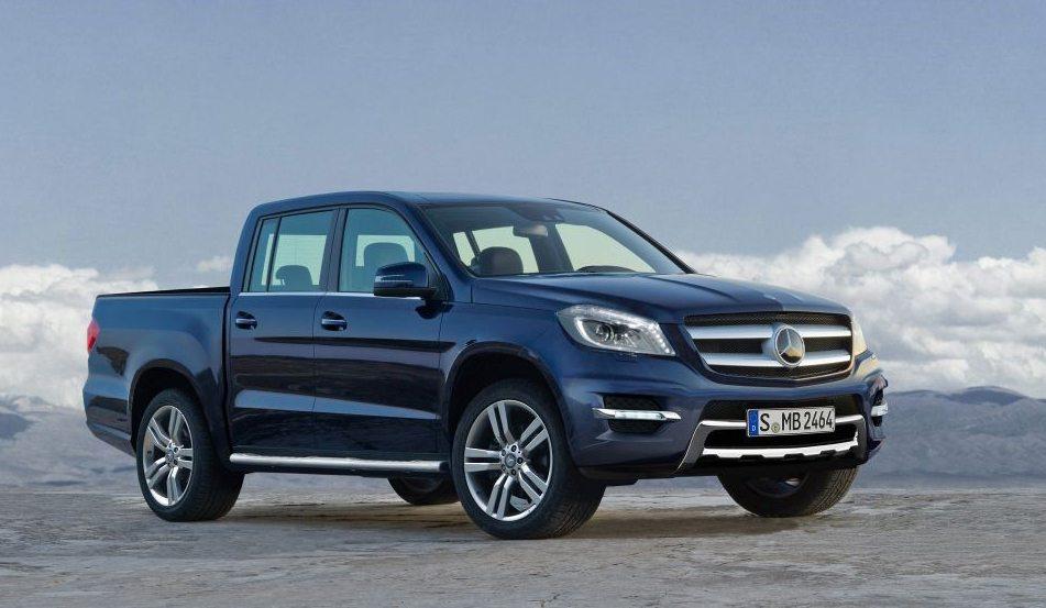 Pick-up Mercedes-Benz-